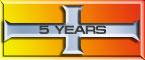 HF 5 Year Service Cross