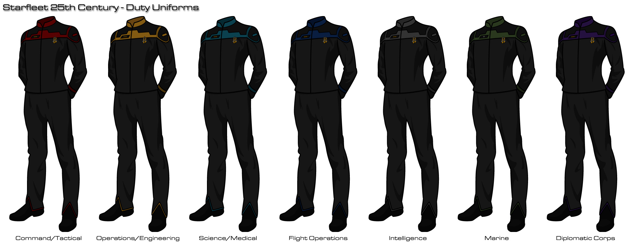 Image Gallery starfleet uniforms 2373